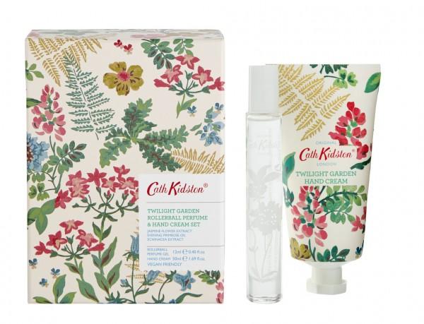 CK TWILIGHT GARDEN, Rollerball Perfume & Hand Cream Set