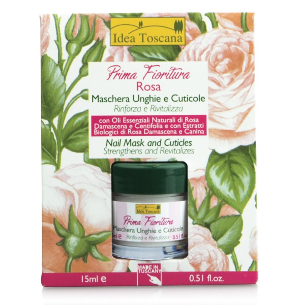 PRIMA FIORITURA-ROSE, Nail Mask and Cuticles 15ml
