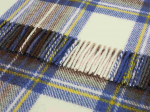Decke - Tartan, Muted Blue Stewart, 140 x 185 cm
