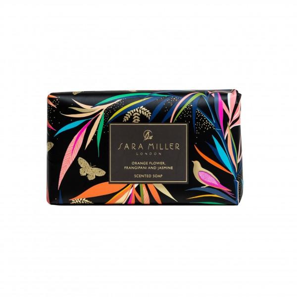 SARA MILLER BAMBOO, Scented Soap 240g (black)