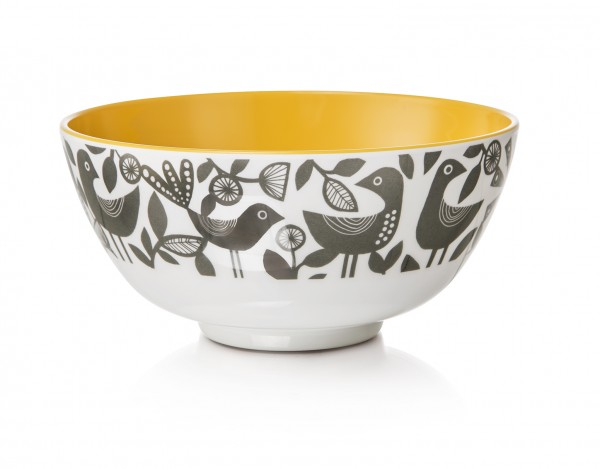 Melamine Bowl, DOVES GREY