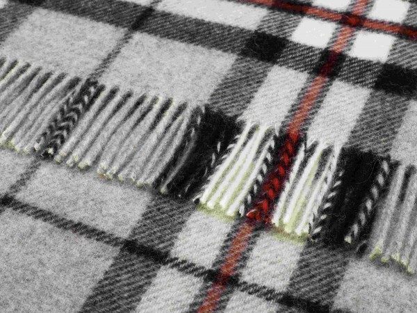 Kniedecke - Tartan Knee Rugs, Grey Thompson, 140 x 90 cm