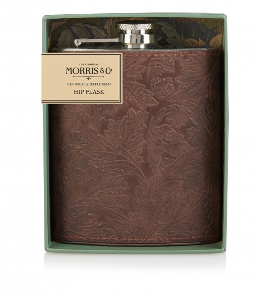 Hip Flask, Morris & Co. GENTLEMAN