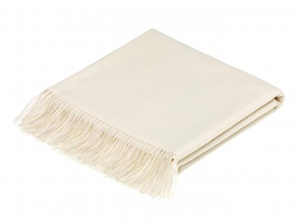 Alpaca-Decke, Natural Cream 130 x 200 cm