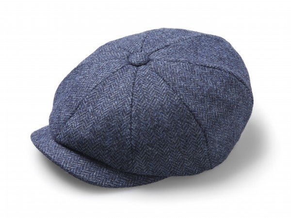 BAKER BOY, Hat - Herringbone Denim
