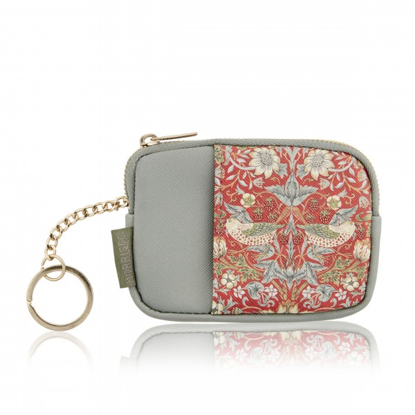Keyring Purse, Morris & Co. - Strawberry Thief
