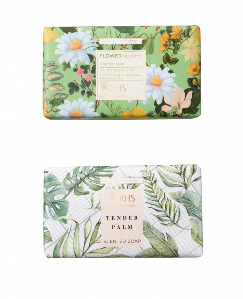 Scented Soap 240g, RHS Daisy Garland -zur Zeit ausverkauft-