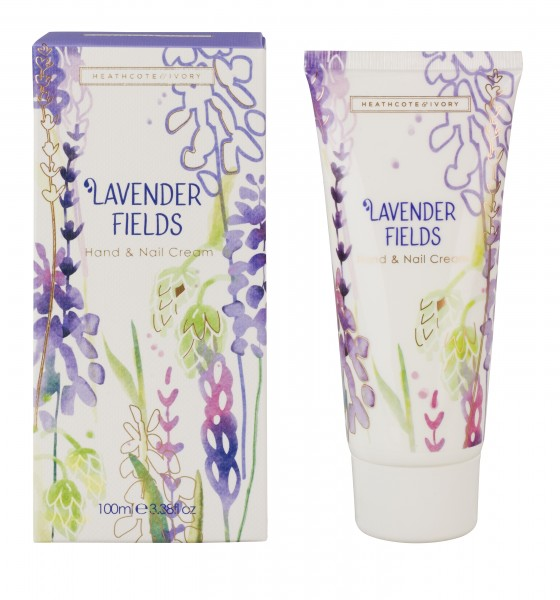 LAVENDER FIELDS, Hand & Nail Cream 100ml