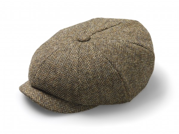 BAKER BOY, Hat - Herringbone Country Brown
