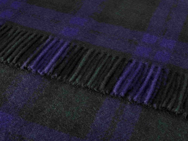 Kniedecke - Tartan Knee Rugs, Black Watch, 140 x 90 cm