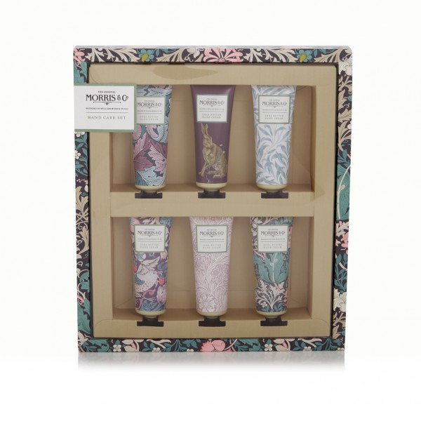 Hand Care Set 6 x 30ml, Morris & Co. Pink Clay & Honeysuckle