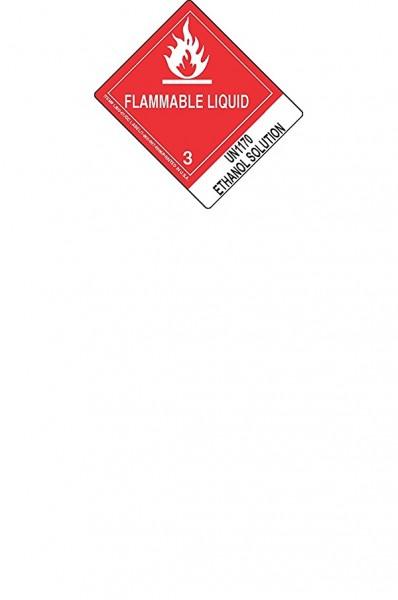 DG UN1170 Aufschlag