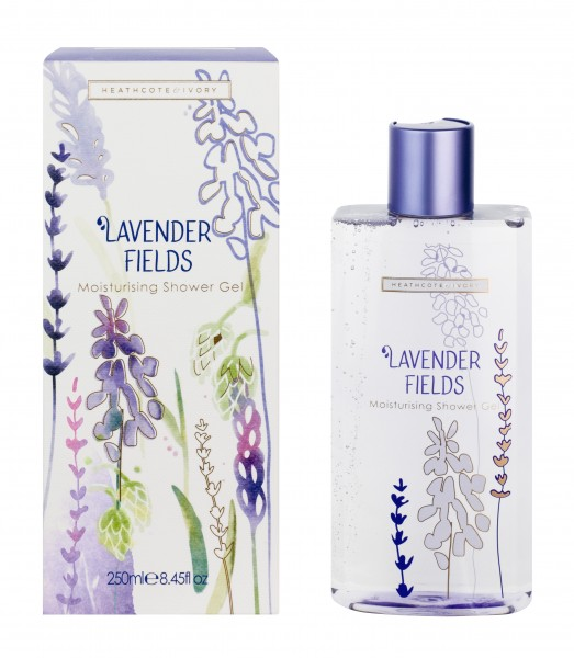 Moisturising Shower Gel 250ml, Lavender Fields