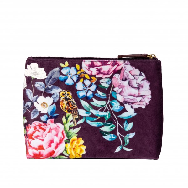 Velvet Cosmetic Bag, The Artist Journey