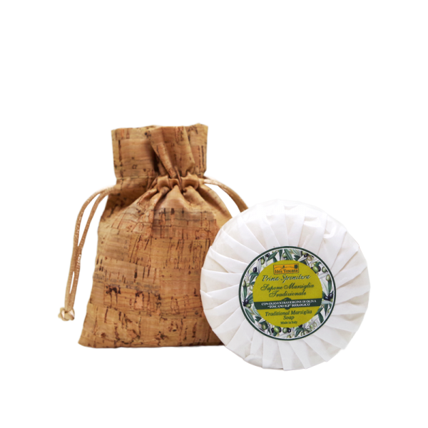 Soap gift kit: Cork bag with Soap 100g