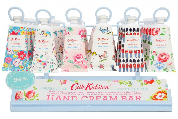 Hand Cream Bar, Display for 36 tubes + 3 Free 50ml Tester Tubes (Erstbestellung) -zur Zeit ausverkau