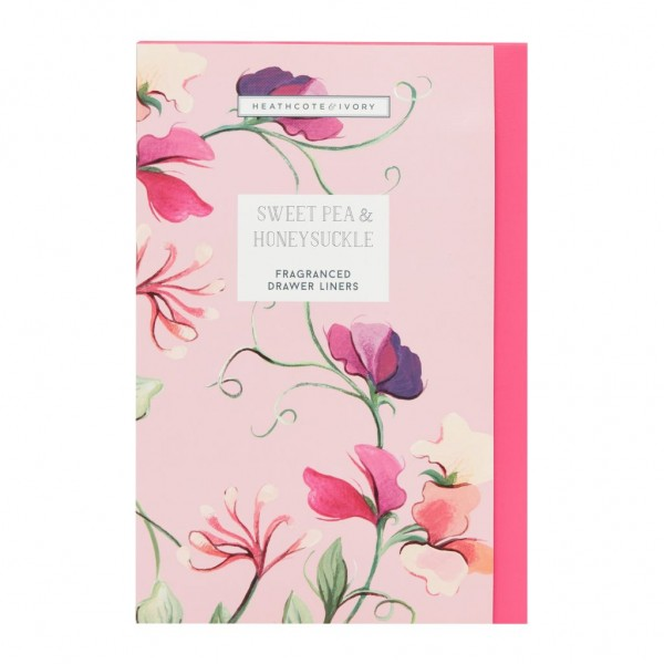 NEW SWEET PEA & HONEYSUCKLE, Fragranced Drawer Liners (5 sheets)