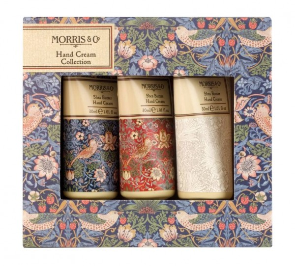 MORRIS & CO. STRAWBERRY THIEF, Hand Cream Collection 3 x 30ml