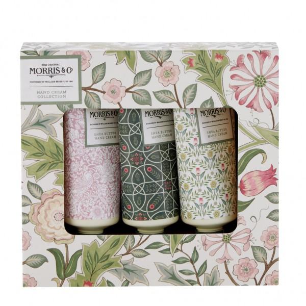 MORRIS & CO. JASMINE & GREEN TEA , Hand Cream Collection (3 x 30ml)