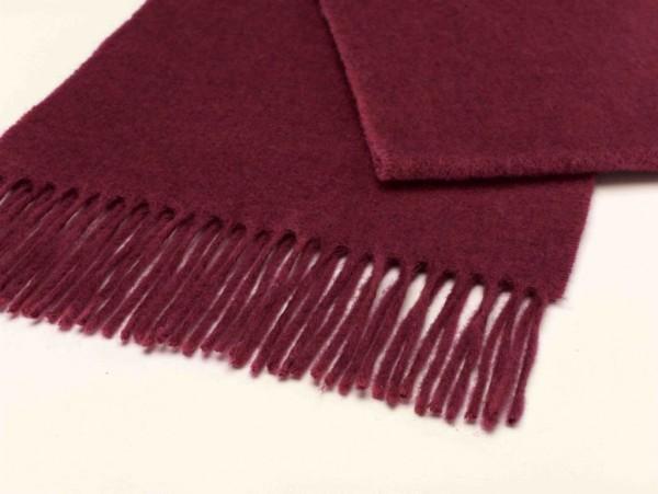 Merino-Scarf-Schal 25 x 190cm PLAIN Bright Pink