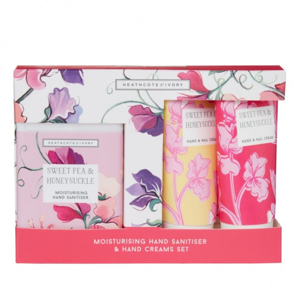 NEW SWEET PEA & HONEYSUCKLE, Care for Hands on the Go