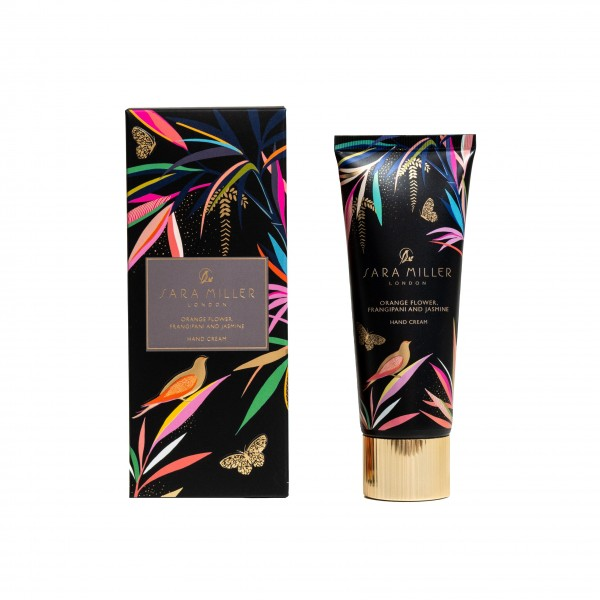 Sara Miller, 75ml Hand Cream (black) Bamboo
