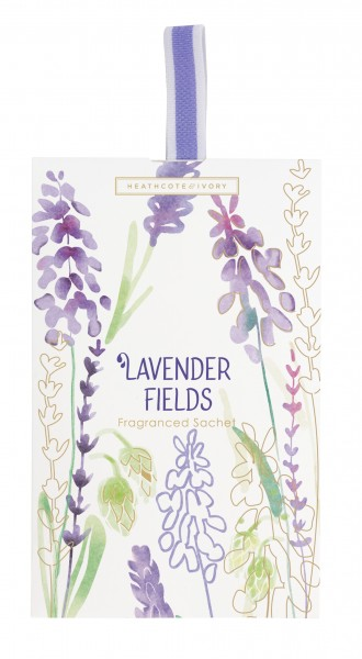 LAVENDER FIELDS, Fragranced Sachet (in display tray)