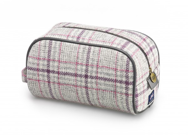 Wash Bag - Grey Glen