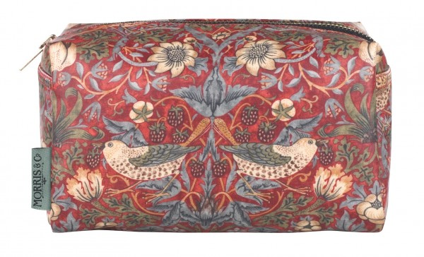 Cosmetic Bag, Morris & Co. Strawberry Thief