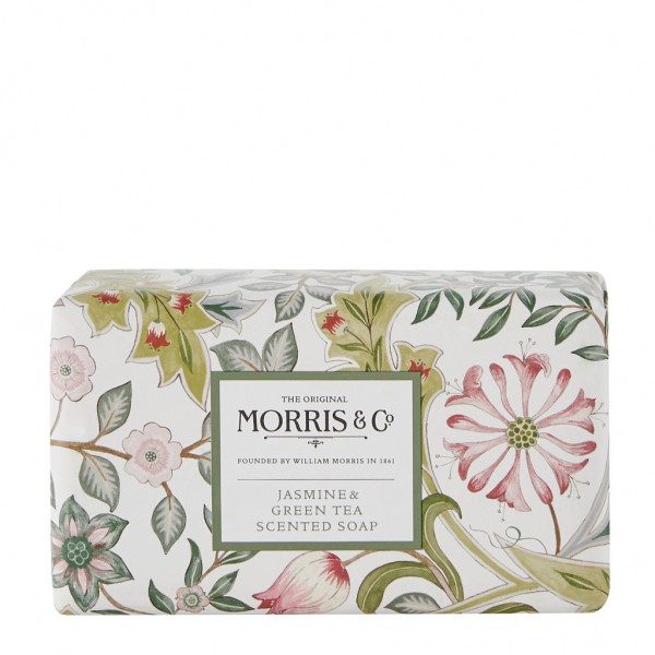 MORRIS & CO. JASMINE & GREEN TEA . Scented Soap 230g
