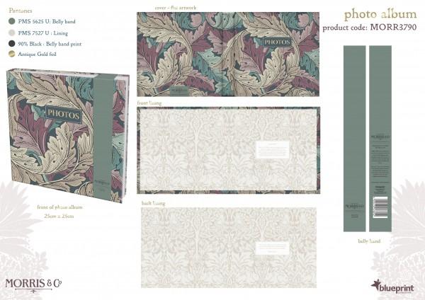 Photo-Album, Morris & Co.- Acanthus