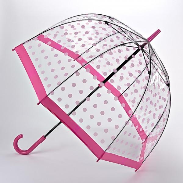 Birdcage-2, Pink Polka Dots
