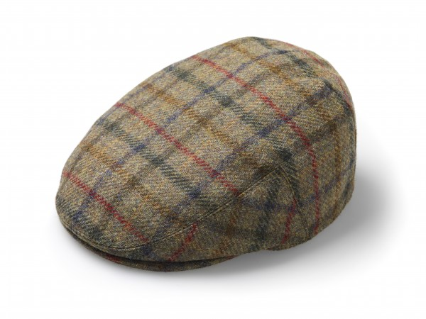 FLAT CAP, Hat - Multicheck Moss-Copy