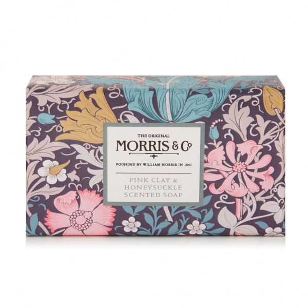 Scented Soap 240g, Morris & Co. Pink Clay & Honeysuckle