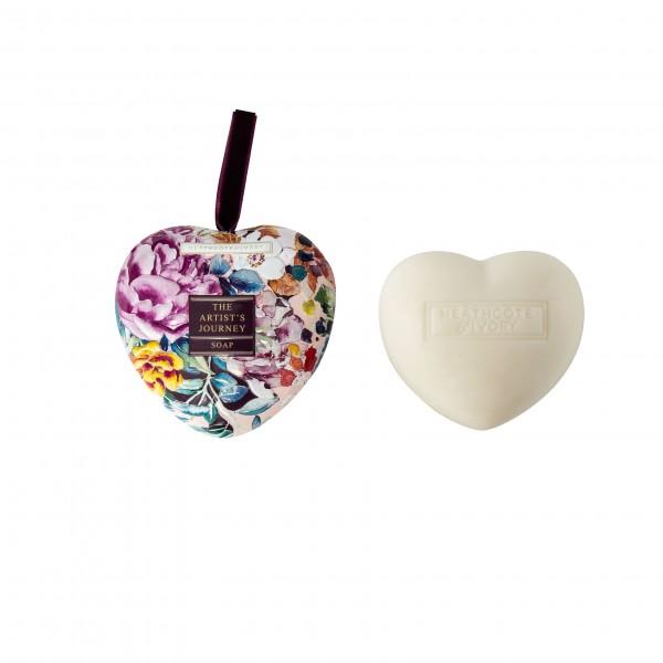 Heart Soap in Tin 90g , The Artist Journey-ausverkautf-