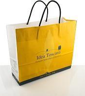 PROMO MATERIAL, Big Shopper bag with cotton handles Idea Toscana