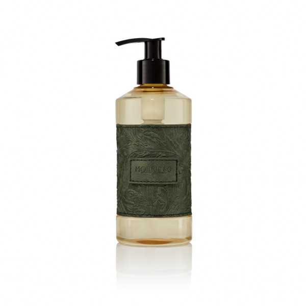 Hand Wash 300ml, Morris & Co.Suede & Amber (green)