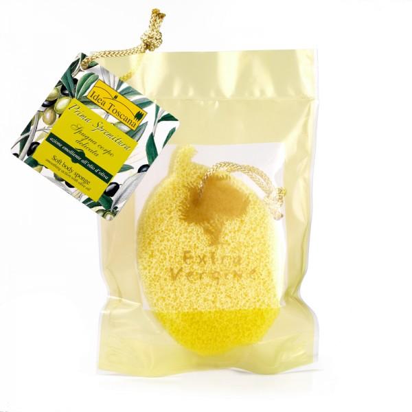PRIMA SPREMITURA, Body sponge with olive oil