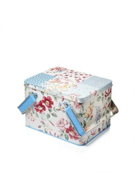 Picknick Tin Set, Cottage Patchwork