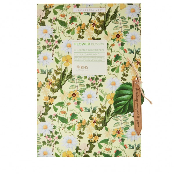 5 Scented Drawer Liners, RHS Daisy Garland