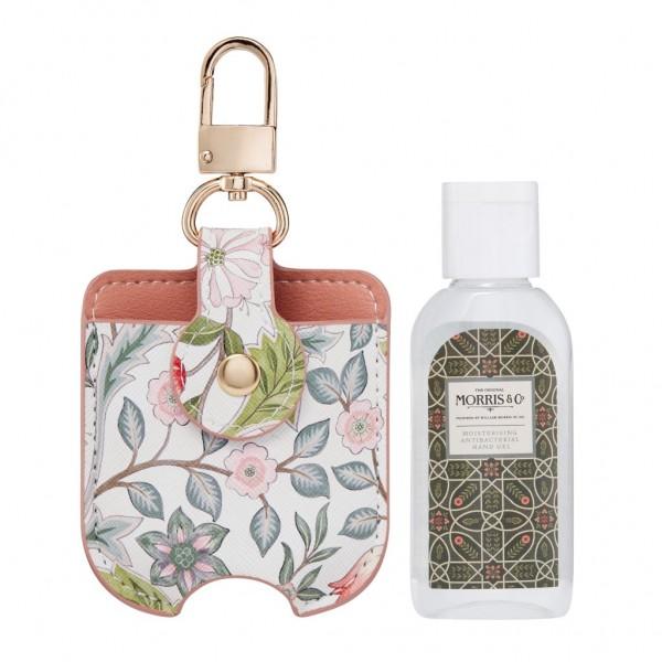 MORRIS & CO. JASMINE & GREEN TEA , Moisturising Antibacterial Hand Gel Bag Charm 45ml