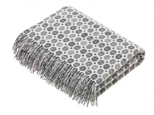 Merino-Decke MILAN Grey 140 x 185 cm
