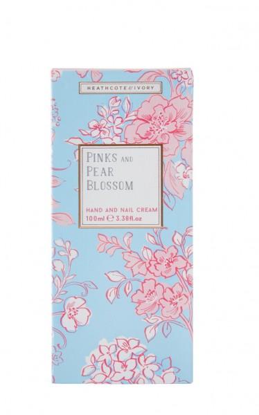 PINKS & PEAR BLOSSOM, Hand & Nail Cream 100ml