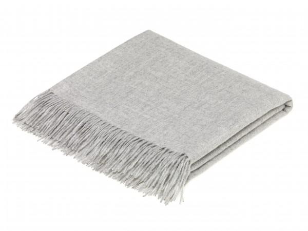 Alpaca-Decke, Natural Grey 130 x 200 cm